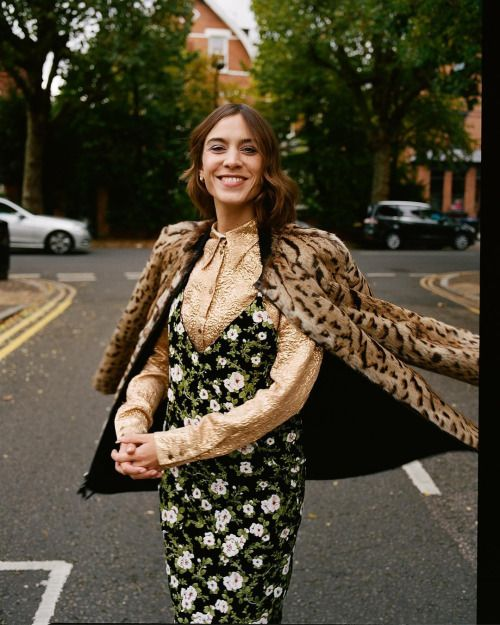 "chungit-up: ""Alexa Chung outtake for Evening Standard magazine 