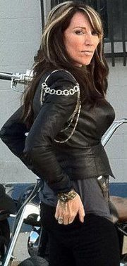 Gemma Teller Morrow..just don't give her a skateboard!