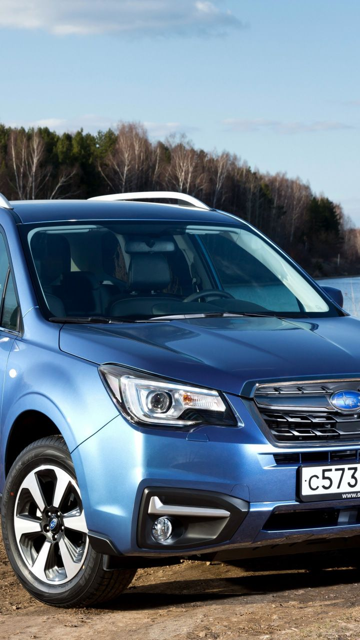 Front Blue Compact Suv Subaru Forester 720x1280 Wallpaper Compact Suv Subaru Forester Suv