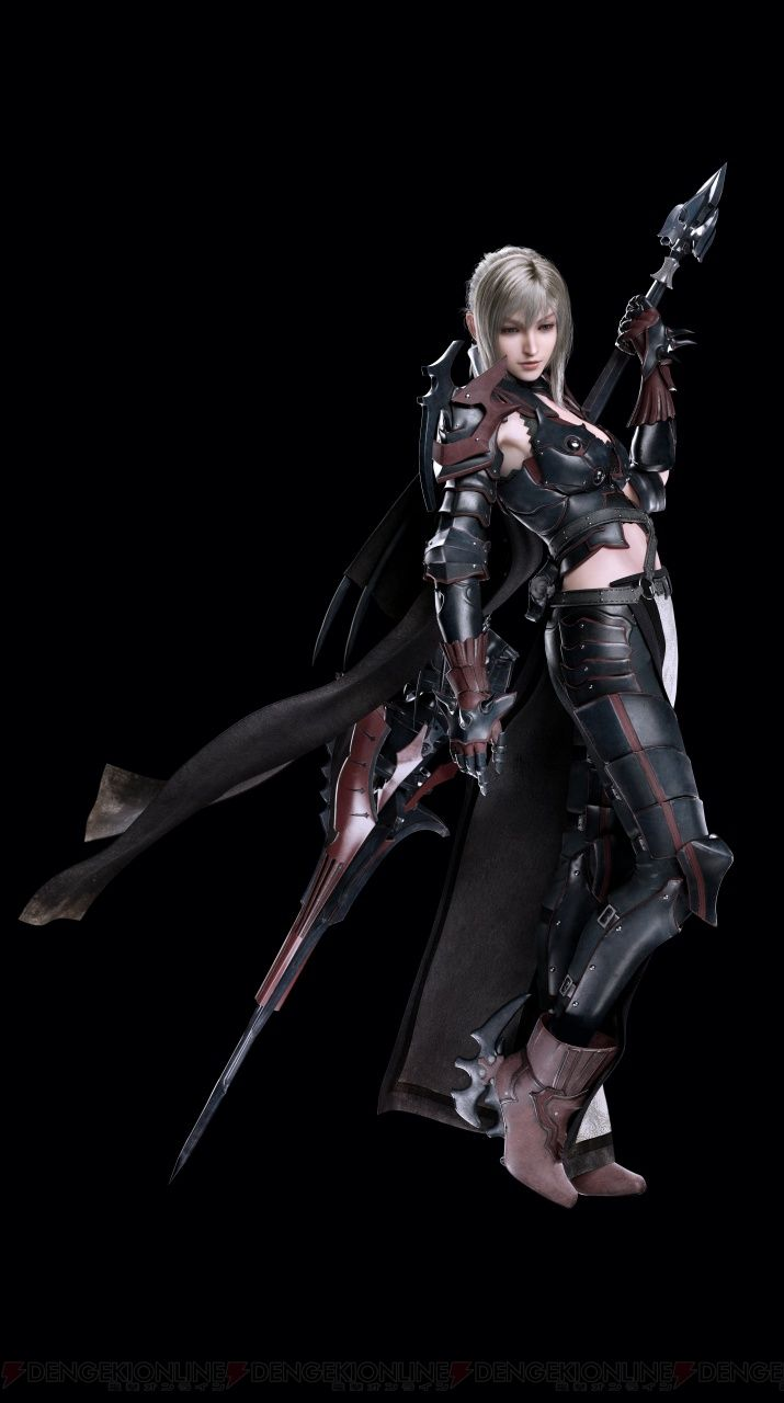 Square Enix and Famitsu have revealed a set of new Final Fantasy XV character…