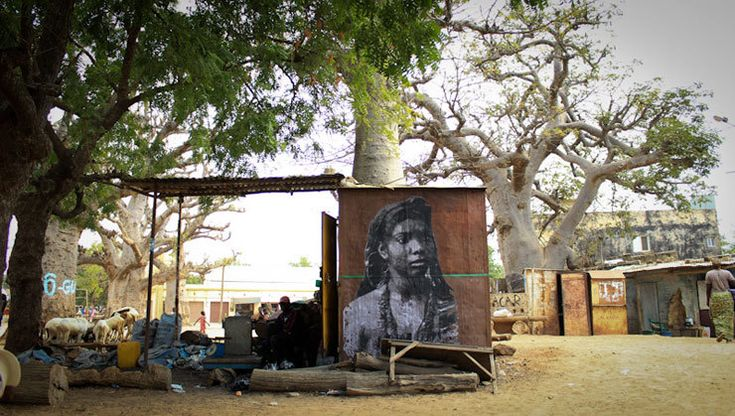 YZ and Her Amazone Warrior Women On Senegalese Walls | Jaime Rojo