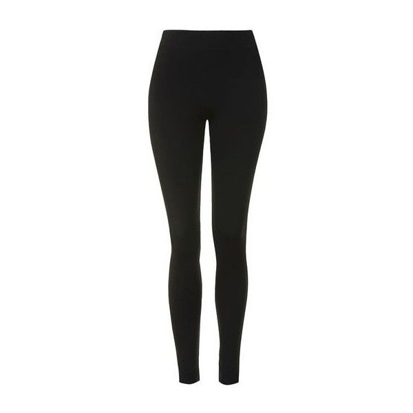 TopShop Sporty Heavier Weight Legging (43 CAD) ❤ liked on Polyvore featuring pants, leggings, bottoms, calças, jeans, black, topshop pants, legging pants, sporty pants and topshop leggings