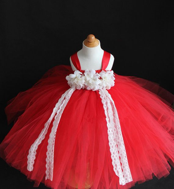 >> Click to Buy << He Little Girl In Red Wedding Dress Europe and American Apparel Reunions Christmas Performances Dress Birthday Princess Tutu #Affiliate