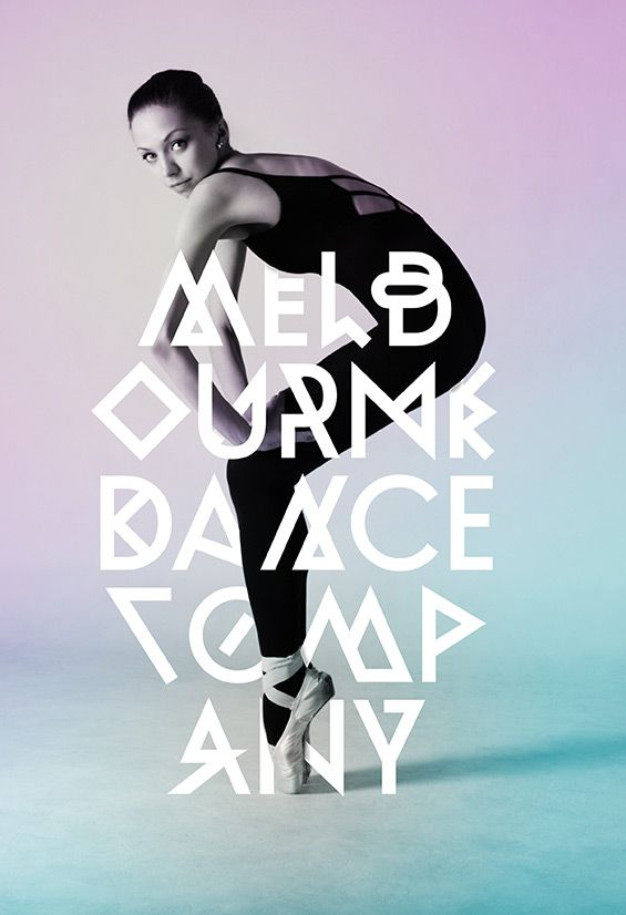 melbourne, dance, company, corporate, design, erscheinungsbild, schrift, typeface, font, alternate, design, display, jakob runge, timo titzm...