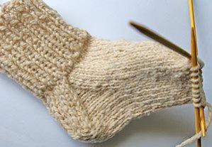 The day I completed my first sock was a day of liberation. For years I'd been mystified by socks, never daring try them on my own. I learned that although knitted socks look complex and daunt…