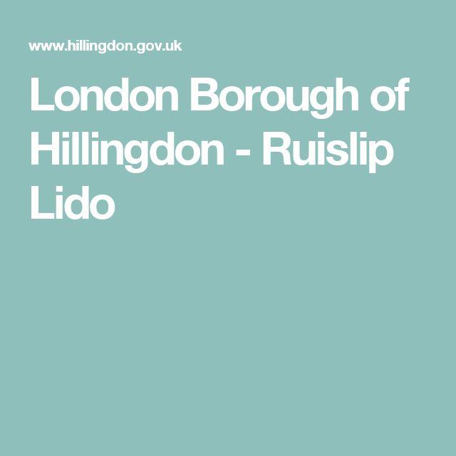 London Borough of Hillingdon - Ruislip Lido