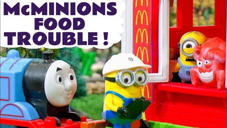 Despicable Me 3 Minions McDonalds Drive Thru Food Trouble - Thomas The T...