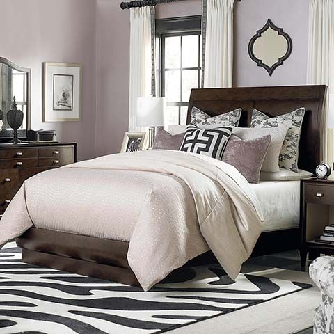 Presidio Sleigh Bed By Bassett Furniture Bedroom Furniture Pinterest Purple Bedrooms