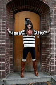 I love stripes right now: Legs Warmers, Fall Wins, Stripes Sweaters, Fall Fashion, Boots Socks, Super Cute, Cute Outfit, Sweaters Boots, Boot Socks