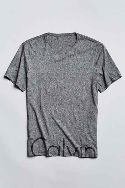 Calvin Klein Jeans Split Logo Tee - Urban Outfitters