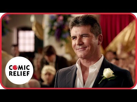 Simon Cowell's Wedding | Comic Relief - YouTube