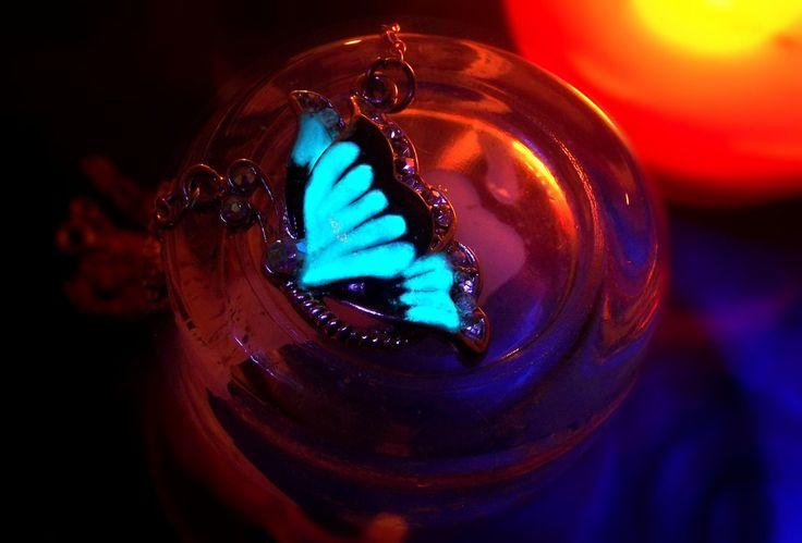 Glowing butterfly by IrishSusco on Etsy