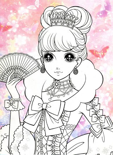 Korean Coloring Book - pink2