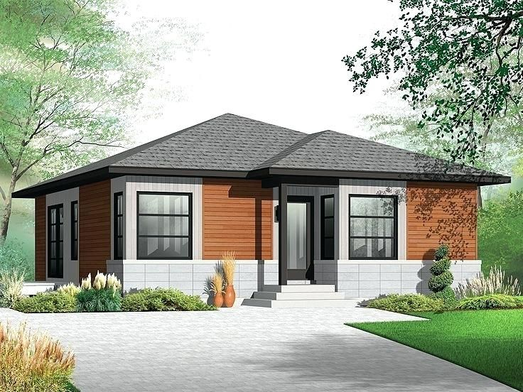 Contemporary Home Bungalow House Plans Canada Modern Contemporary House Plans Ranch House Plans Contemporary House Plans