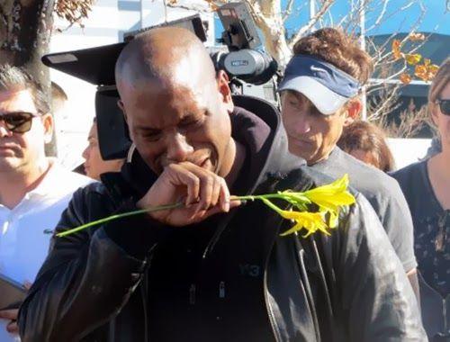 Tyrese Gibson rompe a llorar en el lugar del accidente mortal de su amigo Paul Walker ~ ActorsZone