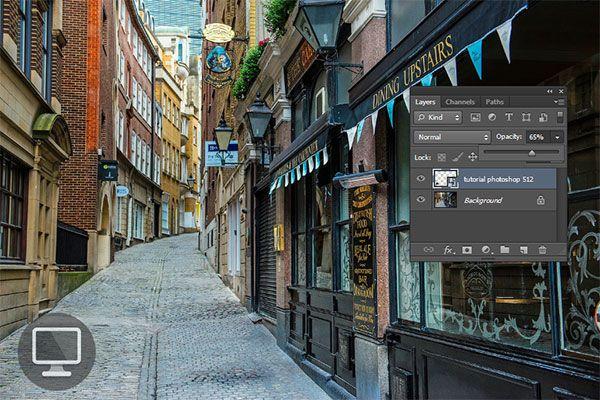 Tutorial video dan gambar cara membuat watermark gambar pada foto menggunakan aplikasi Photoshop.