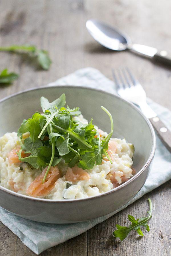 Lekker en simpel recept om risotto met zalm en citroen te maken. Dit kan op het fornuis, maar ook in de stoomoven. Waardoor het nog gemakkelijker is.