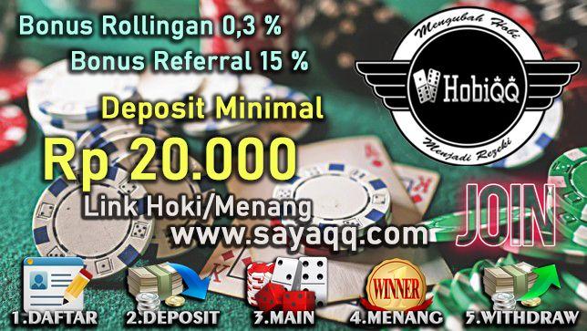 Judionline Hobiqq Situspokeronline Bandarq Agenpoker Situspokerandalan Perangbaccarat Sakong Bandarpoker Agenjudionline Bandar66 Pok Di 2020 Poker Indonesia
