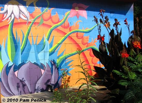 48 best images about school garden mural on pinterest for Exterior mural painting