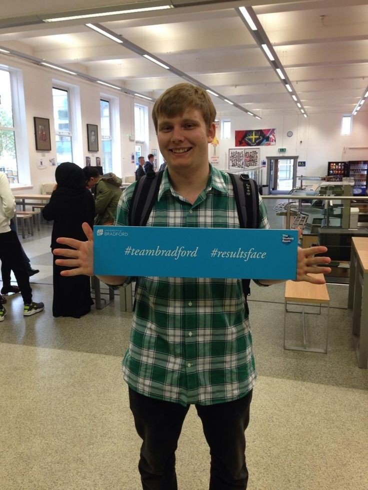Congratulations Jonathan! Hope to see you in September at the University of Bradford. #teambradford  #resultsface