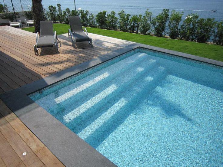 Carrelage piscine Pâtes de Verre Stefania
