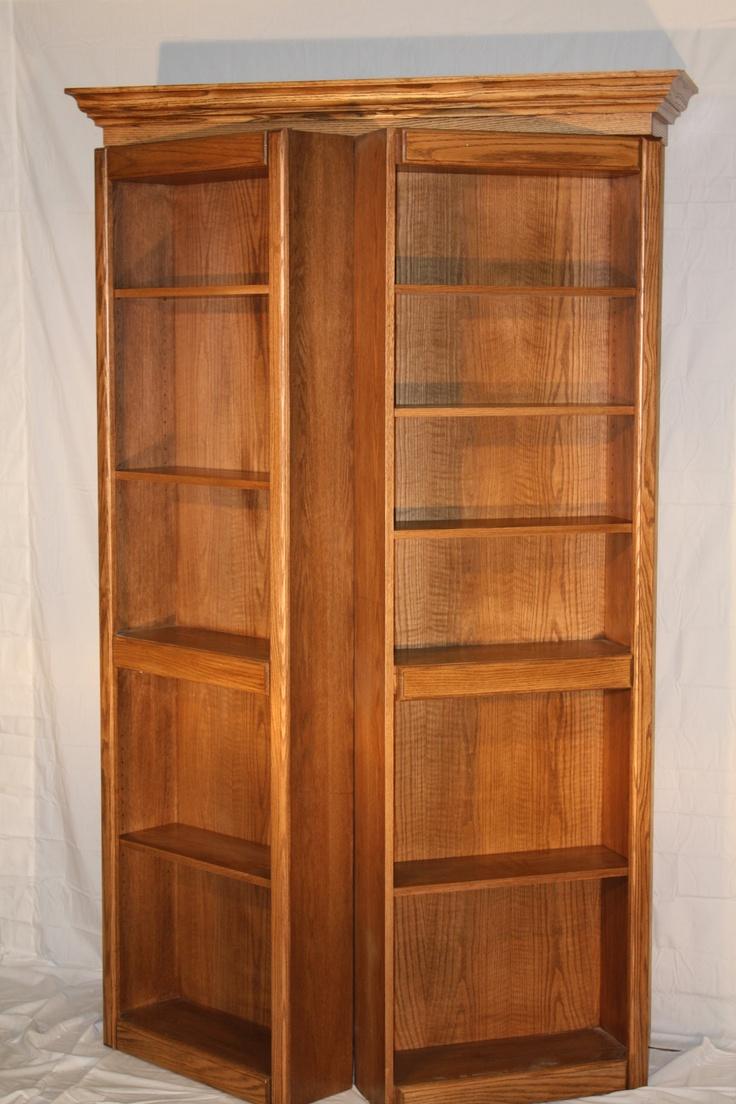 33 best The Murphy Door images on Pinterest | Bookshelf door ...