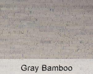 gray bamboo cork floor color