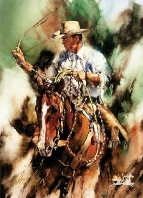Ranch Roping by Chris Owen