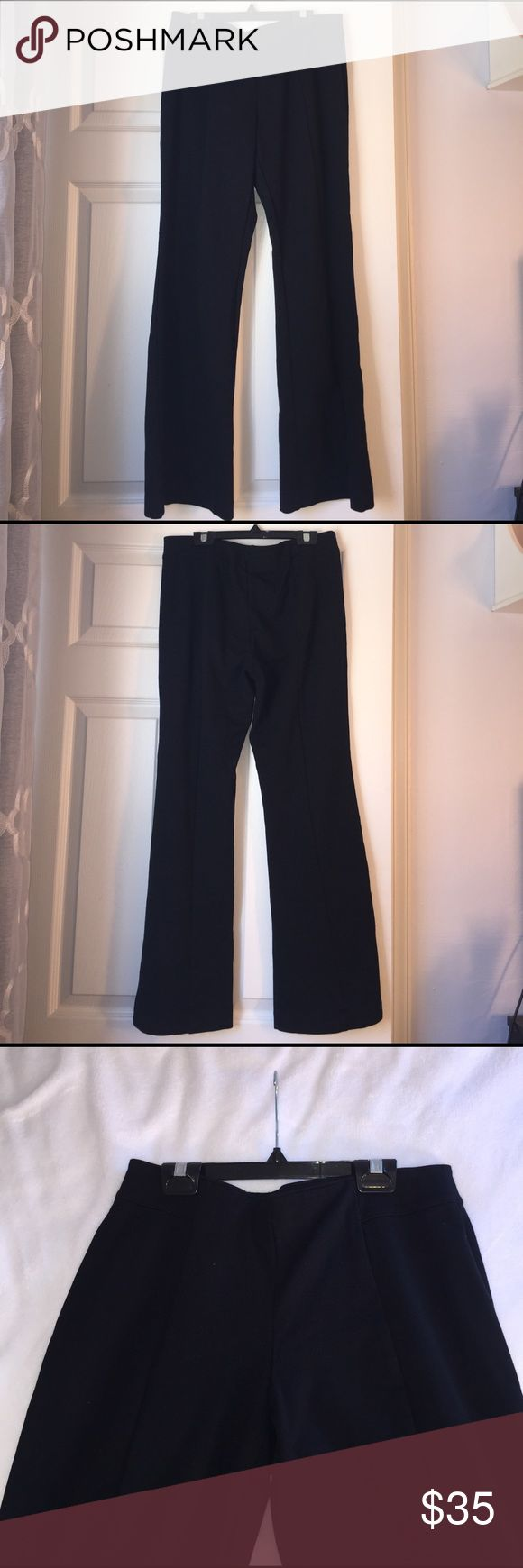 """Like new black stretchy work pants These pants are basically new, I'm only selling them because they're too short on me since I accidentally got an S(Short) pair (I'm 5'5""""). They're good material and were expensive, waistband is stretchy and so are the pants but they're incredibly supportive and lock you in so I feel like they make you look skinnier. These are really great pants and will last you a long time! INC International Concepts Pants Trousers"""