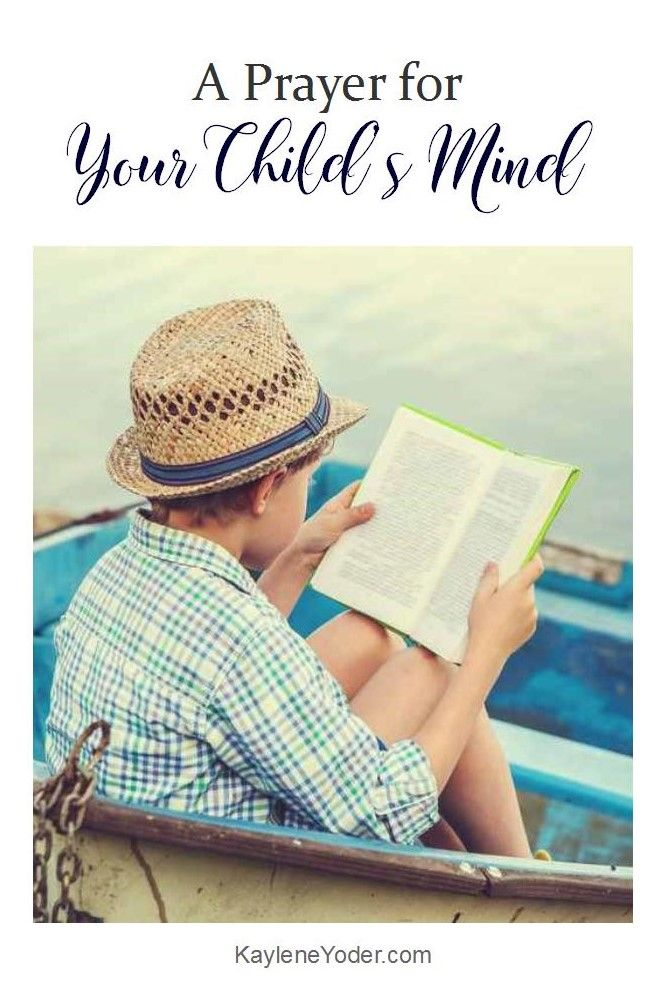 Praying for your child's mind is a powerful way to set their life in the right direction. This prayer asks the Lord to guard your child's heart and mind.