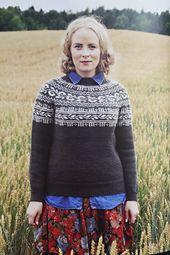 Haukeli genser pattern by Lene Holme Samsøe og Liv Sandvik Jakobsen