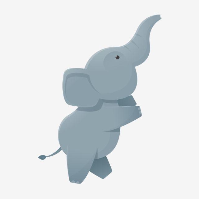 Happy Elephant Cartoon Clipart Images
