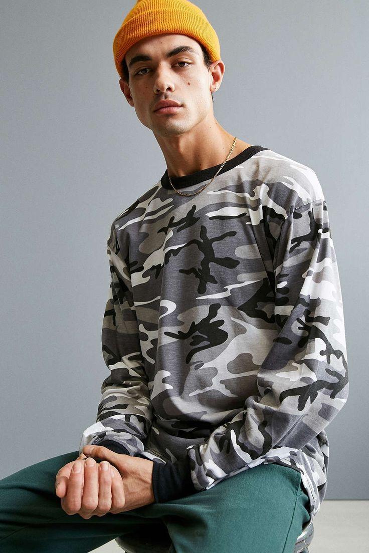 Rothco Camo Long Sleeve Tee - Urban Outfitters