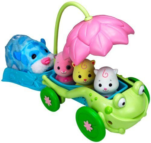 Zhu Zhu Pets Triplet Flower Push Buggy by Cepia. $7.00. Now your triplet babies will travel in style in this whimsical Zhu Zhu Pets flower themed stroller. Collect them all!There is a zhu-niverse of Zhu Zhu Pets to choose from. Collect and connect all of the Zhu Zhu Pets and accessories to build a humongous city. As you expand and create an ever-evolving Zhu Zhu world, your Zhu Zhu pet will happily play and explore even more.