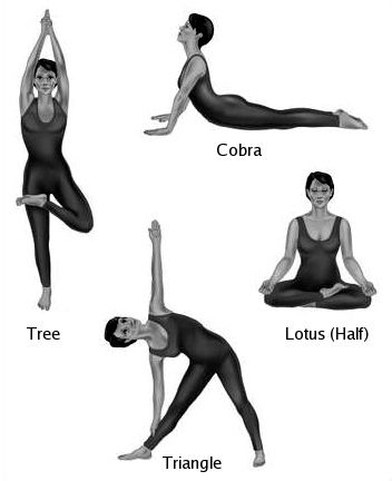 Great website for health problems and beginners yoga poses as solutions!