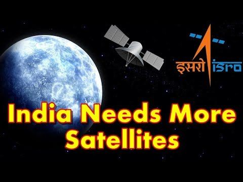 This video shows you that India Has 42 Satellites, But Needs Double That Number To Meet Its Basic Needs. Highlighting the huge mismatch in India's demand for and supply of satellites, Indian Space Research Organisation chief A.S. Kiran Kumar has said that the country needs more than double the 4...