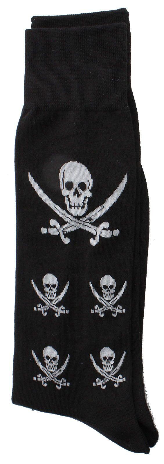 Skull Socks 1pk - http://soxmile.com/portfolio-view/skull-socks-1pk/