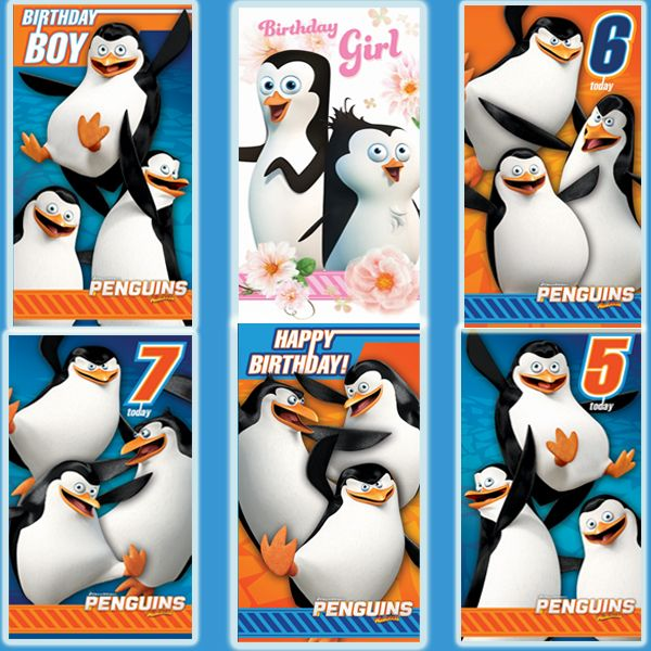 New Official Penguins of Madagascar Cards available with Free UK Delivery. Worldwide shipping also available at https://www.danilo.com/Shop/Cards-and-Wrap/Penguins-of-Madagascar
