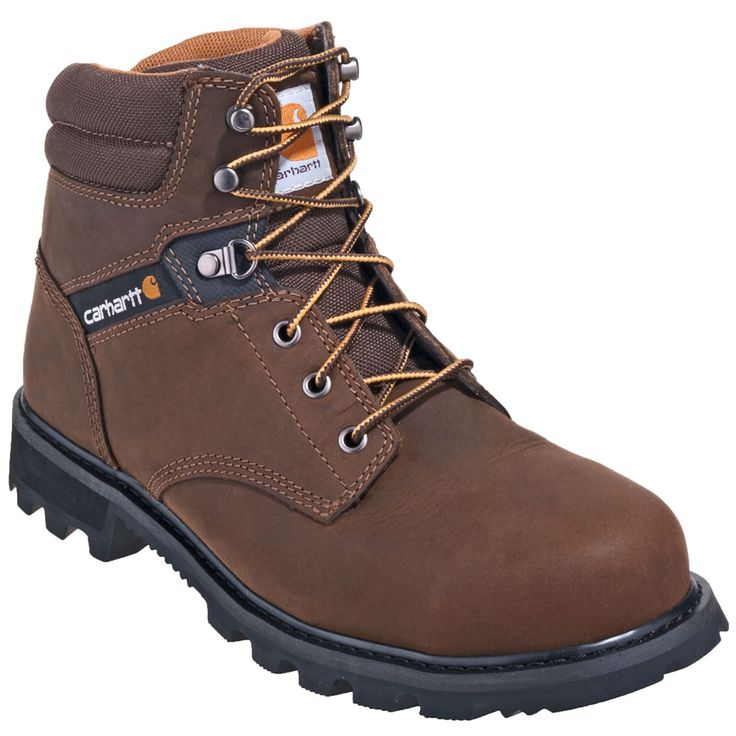 Carhartt Boots Men's CMW6174 Brown 6-Inch Non-Safety Toe Work Boots