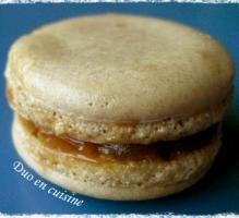 Recette - Macarons caramel au beurre salé - Proposée par 750 grammes