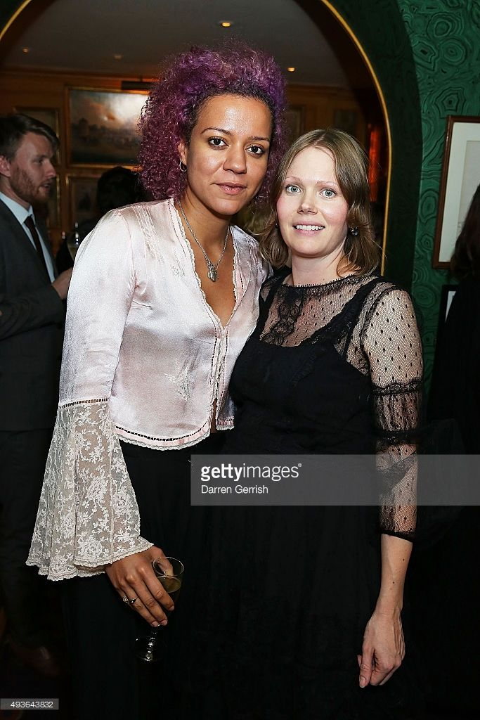 Nell Kalonji and Katie Shillingford attend 'A Bigger Splash' premiere after party presented by AnOther x Dior at Annabel's, on October 21, 2015 in London, England.
