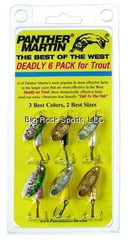Panther Martin Best of The West Spinner Fishing Lure Kit  http://fishingrodsreelsandgear.com/product/panther-martin-best-of-the-west-spinner-fishing-lure-kit/  Guaranteed to catch fish Made in the USA Increase you fish count