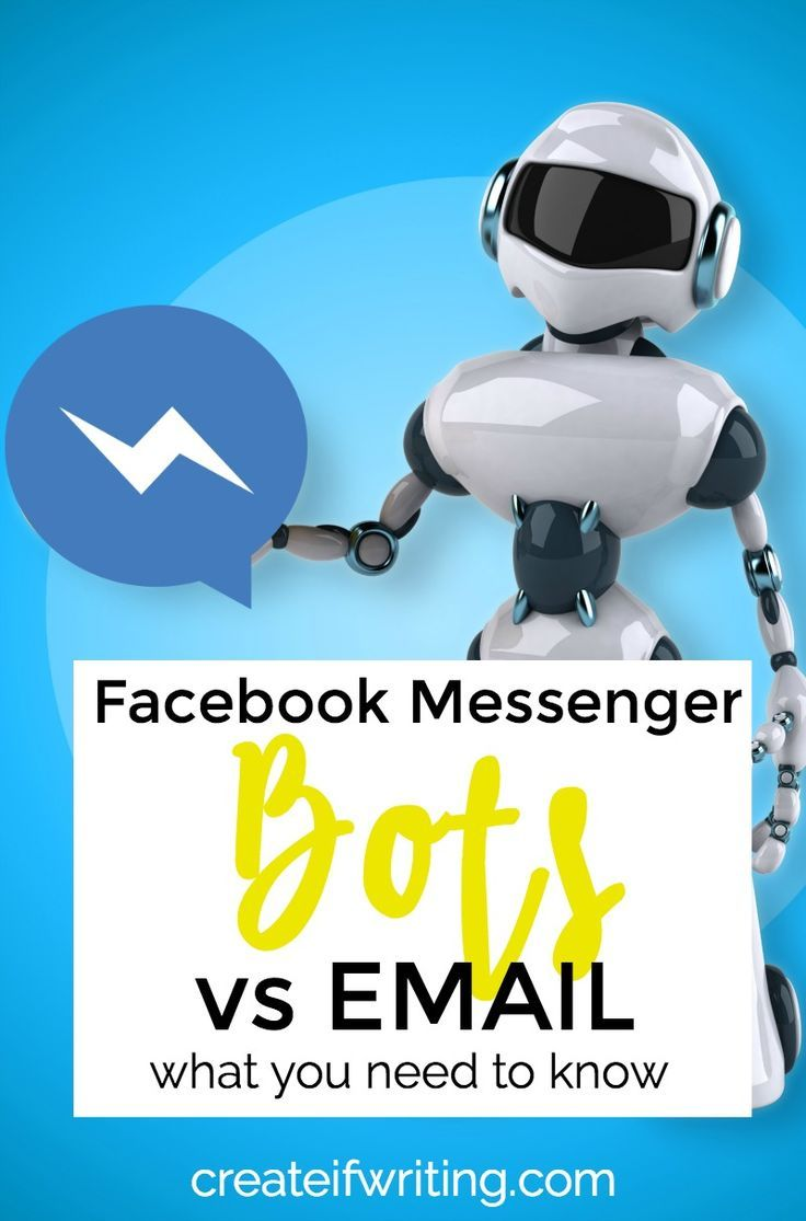 How do Facebook messenger bots stack up to email lists? Everything you need to know.