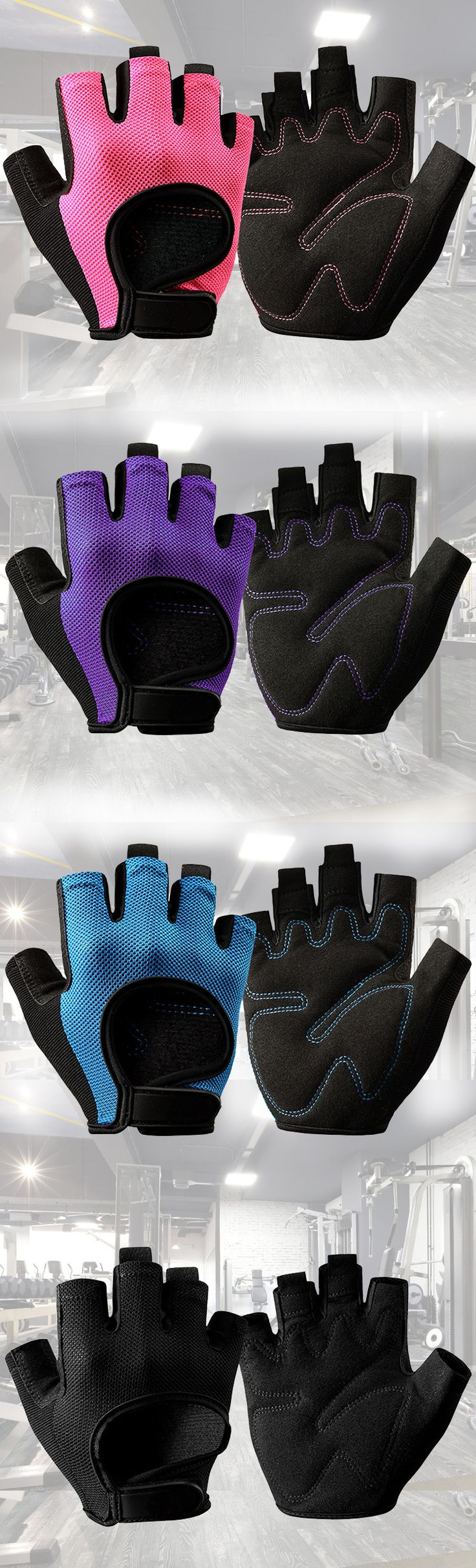 Gym gloves, quality anti-skid Pilates &Yoga gloves for fitness people.