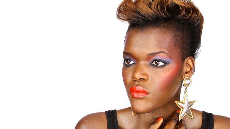 Retro 80's Makeup Look