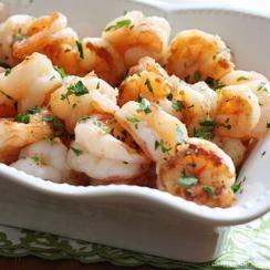 177 Calories-Shrimp Scampi
