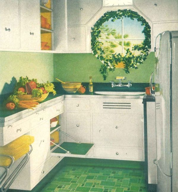 17 Best Ideas About 1940s Kitchen On Pinterest 1940s Home Decor What Is A Hoosier And Yellow