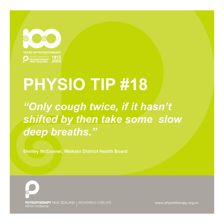 #physiotips #100years coughing