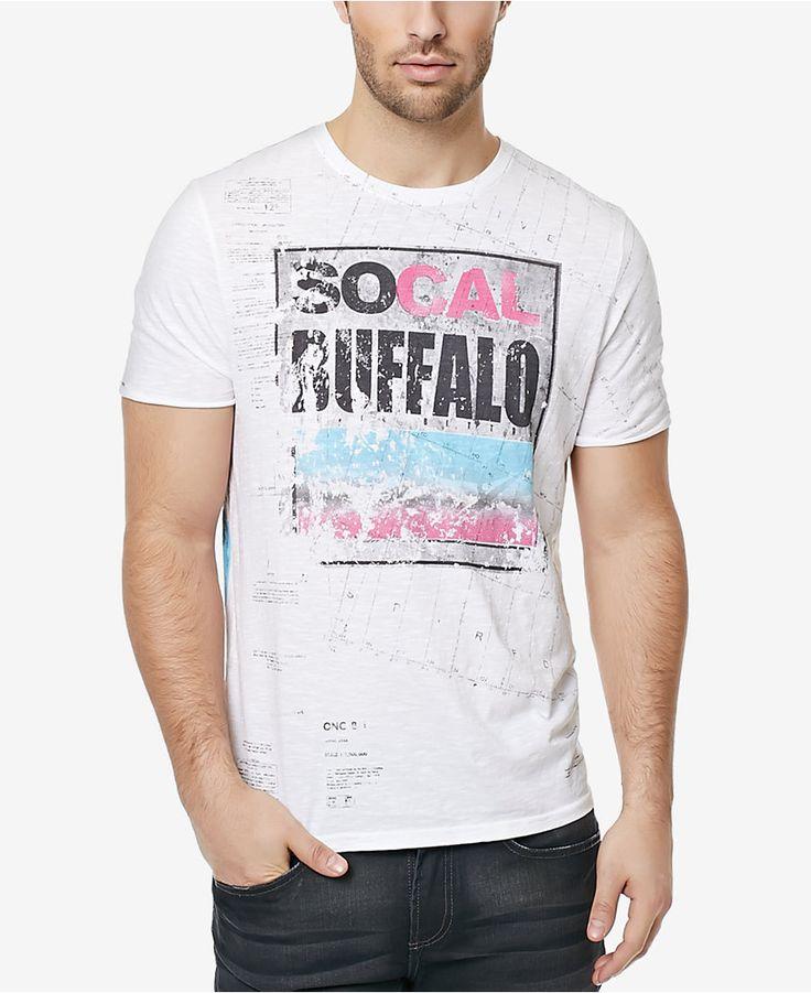 Buffalo David Bitton Men's Nisea Graphic-Print Logo T-Shirt - T-Shirts - Men - Macy's