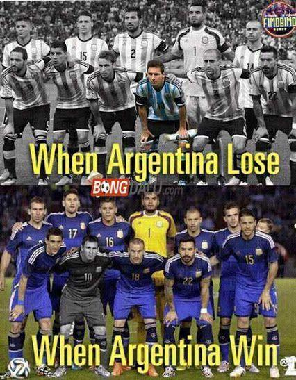 Thắng vì cả đội, không Messi; Thua thì tai Messi. (http://m.bongdalu.com)